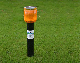 Goose Deterrent Covington OH - Stalk and Awe Geese Management - stick1
